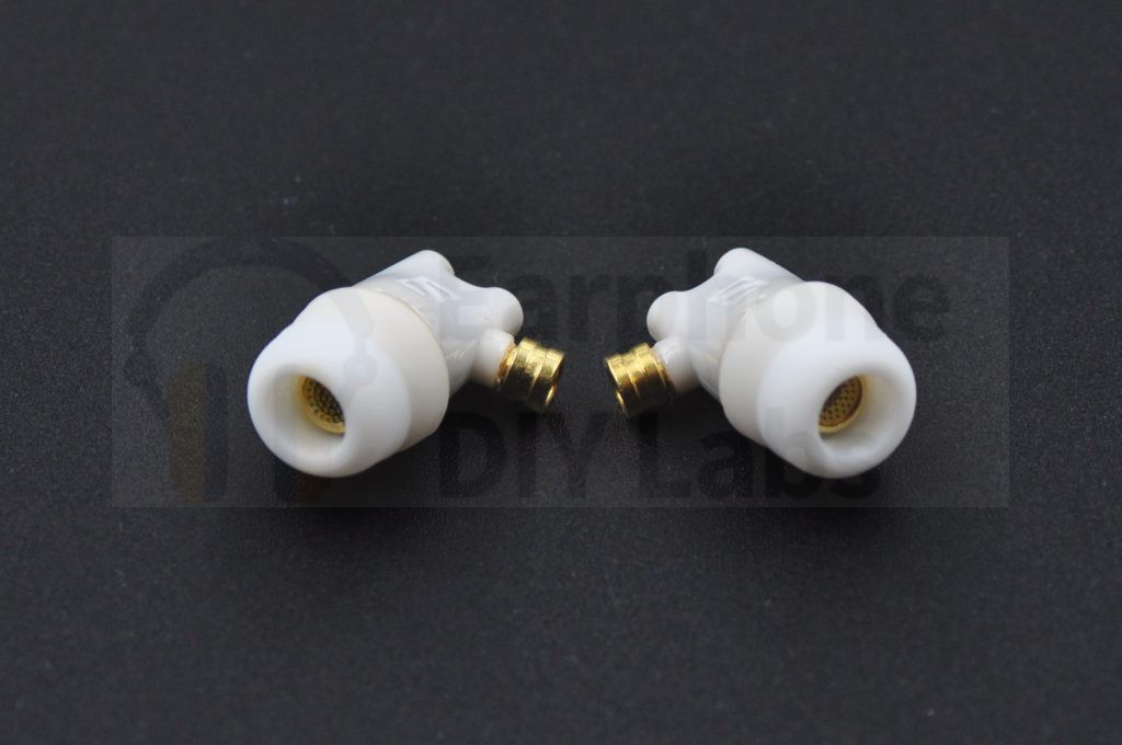 Eventually you have these beautiful earbuds